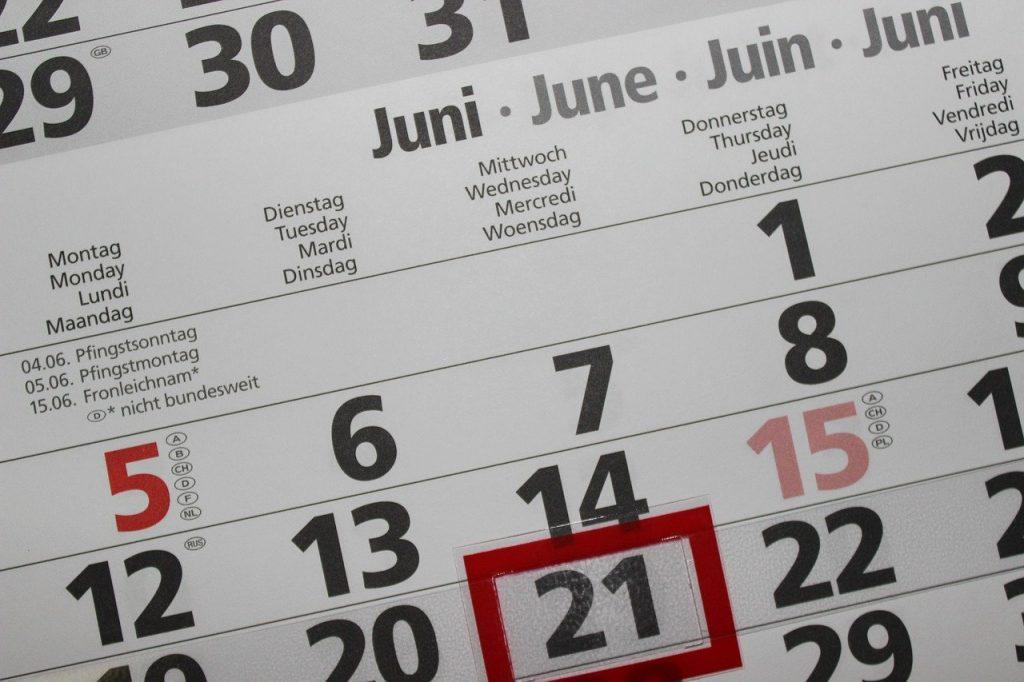 calendar, pay, number