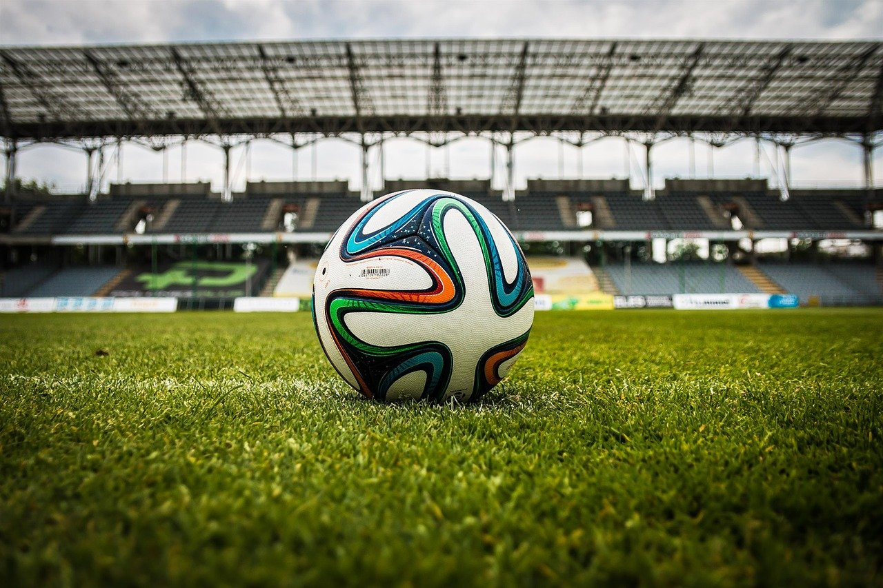 soccer, ball, stadium